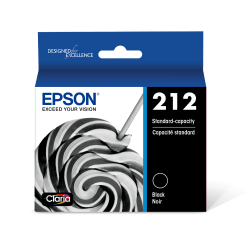 Epson T212 Original Ink Cartridge - Black - Inkjet - Standard Yield