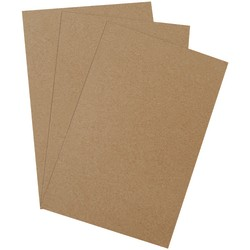 "Office Depot® Brand Heavy-Duty Chipboard Pads, 11"" x 17"", 100% Recycled, Kraft, Case Of 375"