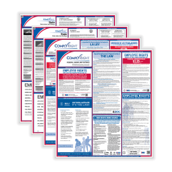 ComplyRight Federal/State Labor Law 1-Year Poster Service, Bilingual, California