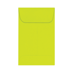 "LUX Coin Envelopes, #1, 2 1/4"" x 3 1/2"", Wasabi, Pack Of 1,000"