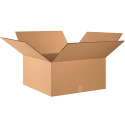 "Office Depot® Brand Double-Wall Heavy-Duty Corrugated Cartons, 26"" x 26"" x 12"", Kraft, Box Of 10"