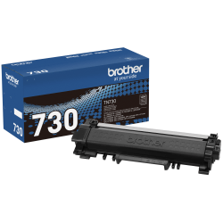 Brother® Black Toner Cartridge, TN730