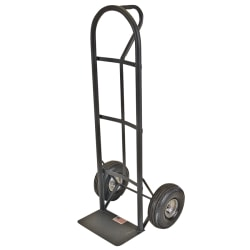 Sparco Heavy-Duty D-Handle Hand Truck, 800 Lb. Capacity, Charcoal Gray