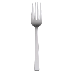 "Office Settings Chef's Table Serving Forks, 9 1/2"", Stainless Steel, Box Of 6"