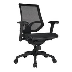 WorkPro® 1000 Series Ergonomic Mesh Mid-Back Task Chair, Black
