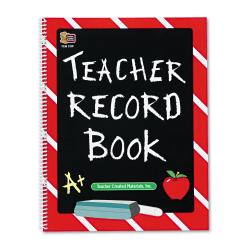 Teacher Created Resources Teacher Record Book, Chalkboard