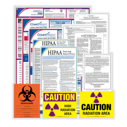 ComplyRight™ Healthcare Federal (Bilingual) And State (English) Labor Law 1-Year Poster Service, New York