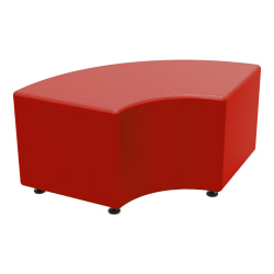 Marco Group Sonik Curved Bench, American Beauty Red