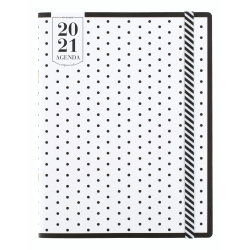 "See Jane Work® for AT-A-GLANCE® Polka Dot Monthly Planner, 8-1/2"" x 11"", January To December 2021, SJ109-091"