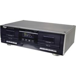 Pyle PT659DU Dual Cassette Deck, 2 x Cassette Capacity
