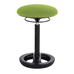 Safco® Twixt® Active Seating Chair, Desk Height, Green