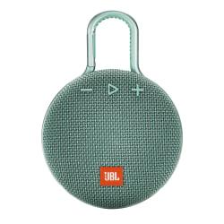 JBL Clip 3 Portable Bluetooth® Speaker, Blue, JBLCLIP3BLU