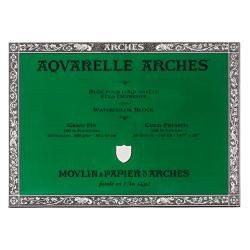 """Arches® Aquarelle Watercolor Block, 140 Lb, Cold Press, 14"""" x 20"""""""