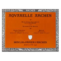 """Arches® Aquarelle Watercolor Block, 140 Lb, Rough Press, 9"""" x 12"""""""