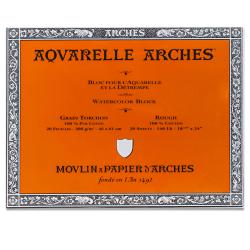 """Arches® Aquarelle Watercolor Block, 140 Lb, Rough Press, 18"""" x 24"""""""