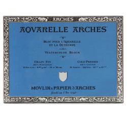 """Arches® Aquarelle Watercolor Block, 300 Lb, Cold Press, 10"""" x 14"""""""