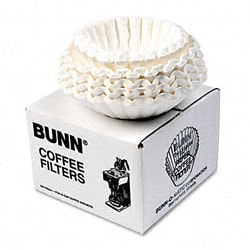 BUNN Flat Bottom Coffee Filters, 12-Cup Size, 250 Filters/Pack