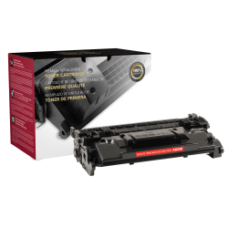 Clover Technologies Group™ 200899P (HP CF287A) Remanufactured Black MICR Toner Cartridge