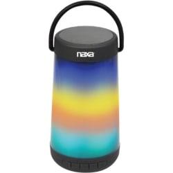Naxa VIBE NAS-3101 Bluetooth Speaker System - Black - Battery Rechargeable - USB