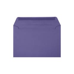 """LUX Booklet Envelopes With Moisture Closure, #6 1/2, 6"""" x 9"""", Wisteria, Pack Of 50"""
