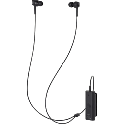 Audio-Technica ATH-ANC100BT QuietPoint Wireless In-Ear Active Noise-Cancelling Headphones