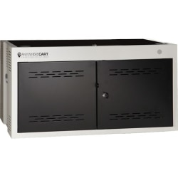 """Anywhere Cart 16 Bay Cabinet - Up to 15"""" Screen Support - 16.3"""" Height x 30.2"""" Width x 17.8"""" Depth - Desktop, Wall Mountable - Metal"""