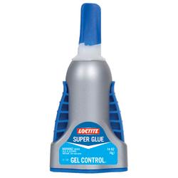 Loctite Gel Control No-Drip Super Glue, 0.14 Oz, Clear