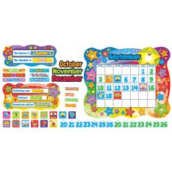 Trend® Bulletin Board Set, Star Calendar