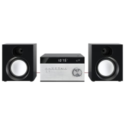 """iLive Electronics Home Music System With Bluetooth®, 4.13""""H x 7.6""""W x 7.1""""D"""