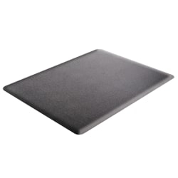 "Deflect-O Ergonomic Sit-Stand® Chair Mat For All Pile and Hard Floors, 36""W x 48""D, Black"