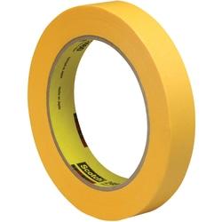 "3M™ 2460 Flatback Tape, 3"" Core, 0.75"" x 180', Gold, Pack Of 48"