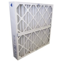 "Tri-Dim High-Capacity HVAC Pleated Air Filters, Merv 9, 16"" x 25"" x 4"", Case Of 3"