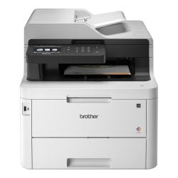 Brother ® Wireless Color Laser All-In-One Printer, Copier, Scanner, Fax, MFC-L3770CDW