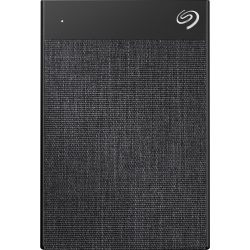 Seagate Backup Plus Ultra Touch STHH1000400 1 TB Portable Hard Drive - External - Black - USB 3.0 Type C - 256-bit Encryption Standard - 2 Year Warranty