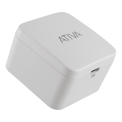Ativa® USB-C Wall Charger, White, 45866