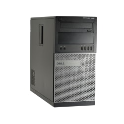 Dell™ Optiplex 7020-MT Refurbished Desktop PC, Intel® Core™ i7, 8GB Memory, 256GB Solid State Drive, Windows® 10, OD1-0228