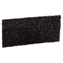 """3M™ Doodlebug™ High Productivity Stripping Pads, 8550, 4 5/8"""" x 10"""", Black, Pack Of 10"""
