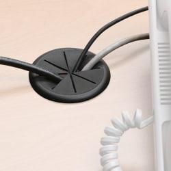 "Master Caster® Cord Away® Grommet, 2 3/8"" Flexible"