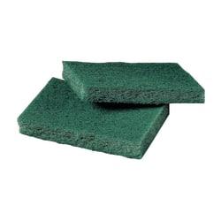 "3M™ Niagara™ General Purpose Scrubbing Pads, 9650N, 3"" x 4 1/2"", Green, 40 Pads Per Box, Case Of 2 Boxes"