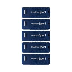 Centon DataStick Pro USB 3.0 Flash Drives, 16GB, Sport Blue, Pack Of 5 Flash Drives, S1-U3W2-16G-5B