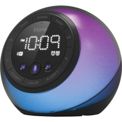 iHome iBT297 Bluetooth Speaker System - Black - Battery Rechargeable