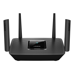 Linksys® Max-Stream™ Tri Band Mesh MU-MIMO 802.11ac, Gigabit Wireless Gateway Router, Max-Stream MR8300