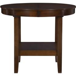 "Powell Palak Dining Table, 30""H x 48""W x 36""D, Walnut"