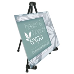 Office Depot® Brand Tabletop Display Easel, Black