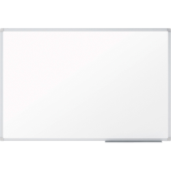 "Mead® Basic Melamine Dry-Erase Whiteboard, 17 1/2"" x 23 12/16"", Aluminum Frame With Silver Finish"