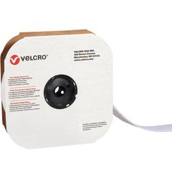 """VELCRO® Brand Tape, Hook Strips, 4"""" x 900"""", White"""