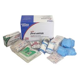 Office Depot® Brand 110-Piece First Aid Refill