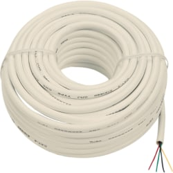 RCA TP003N Phone Cable - 50 ft Phone Cable for Phone - Bare Wire - Bare Wire - Ivory