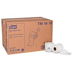 Tork OptiCore Universal 2-Ply Toilet Paper, 288-5/16' Roll, 100% Recycled, White, Pack Of 36 Rolls