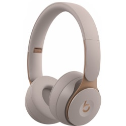 Beats by Dr. Dre Solo Pro Wireless Noise Cancelling Headphones - Grey - Stereo - Wireless - Bluetooth - Over-the-head - Binaural - Circumaural - Noise Canceling - Gray